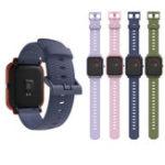 Оригинал Mijobs 20mm Силиконовый Запасные часы с ремешком Стандарты для Amazfit Bip Pace Youth Smart Watch