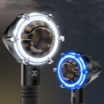 Оригинал SPIRIT BEAST 12V мотоцикл LED Turn Lights Дневное время Водонепроницаемы Декоративное ограждение Предупреждение Лампа