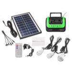 Оригинал AC 120V-240V Портативный Солнечная системный генератор с панелью Солнечная Радио MP3 фонарик питания