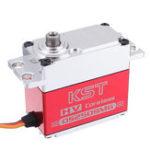 Оригинал KST DS2509MG Цифровой Сервопривод 30 кг Металлический редуктор без сердечника для самолета RC 1: 8 RC Авто