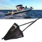 Оригинал Mounchain 18 '/ 32' / 42 '/ 53' Sea Drogue Float Морской каяк Якорь дрейфа 15-30ft Гребной тормоз для носка Лодка Рыбалка Canoe