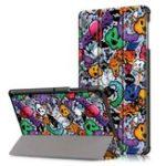 Оригинал Планшет Tri-Fold Чехол Чехол для планшета Galaxy Tab S5E SM-T720 SM-T725 Samsung – Облако