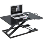 Оригинал Baize 2105 Stand-up Office Lift Монитор Кронштейн для ноутбука Вертикальная подставка Компьютерный стол Рабочий стол Подвижный