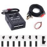 Оригинал iPowerMAX Испытательный кабель для питания телефона для iPhone Xs max Xs 8G 8P X 7G 7P 6S 6SP 6G 6P 6P DC Power Control Провод Тестовая линия One Key Boot