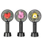 Оригинал Мини USB перезаряжаемый портативный вентилятор для путешествий На открытом воздухе Office Creative 3 Speed Cooling Fan