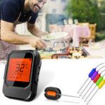 Оригинал 6ЗондовБеспроводнойСмартБАРБЕКЮТермометр Мясной Пищевой Bluetooth Wifi Для IOS Android