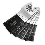 Оригинал 5шт 34мм биметаллический прямой пильный диск колеблющийся мульти Набор для Fein Black и Decker