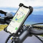 Оригинал RAXFLYмотоциклДержательдлявелосипедногоруля на 360 градусов для смартфона 4 дюйма и 7 дюймов Samsung Galaxy S10 Plus iPhone XS Max