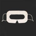 Оригинал CLAITE 100 шт. Белый шлем VR Одноразовый глаз Маска