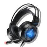 Оригинал 3,5 мм Hi-Fi стерео игровая гарнитура с шумоподавлением для наушников с микрофоном 7 цветов дыхательный свет