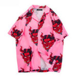 Оригинал Рубашки с короткими рукавами и короткими рукавами Revere для мужчин