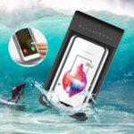 Оригинал ПВХ Универсальный Водонепроницаемы Телефон Сумка Чехол для плавания Сухой Сумка Для 5.0-6.1 дюймов Смартфон iPhone XS Samsung Galaxy S10