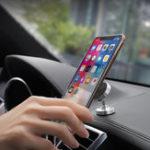 Оригинал НОСОМагнитныйПоворотна360° Приборная панель Металл Авто Держатель для телефона для смартфона iPhone Samsung Xiaomi Huawei