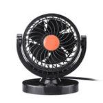 Оригинал DC 12V/24V 360° All-Round Mini Auto Air Cooling Fan Adjustable Low Noise