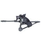 Оригинал AURORA RC TK-I 230 мм Колесная база 5 дюймов 5-мм кронштейн из углеродного волокна FPV Racing Frame Набор для RC Дрон 106 г