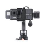 Оригинал PT-6 для Gopro Vlog Пластина с адаптером для микрофона на 3 оси Gimbal Moza Mini S Smooth 4 Vimble 2 Vlogging Metal Чехол для Gopro 7/6