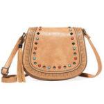 Оригинал Rivet Hollow Out National Style Crossbody Bag Shoulder Bag
