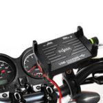 Оригинал 2.5A Алюминиевый USB Зарядное Устройство Держатель Телефона Руль Для мотоцикл Электрический Горный Велосипед