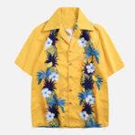 Оригинал Праздничные гавайские рубашки с цветочным принтом для мужчин