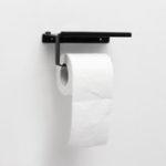 Оригинал Нержавеющая сталь туалетной бумаги Коробка Настенное крепление Держатель рулона телефона Tissue Rack Ванная комната