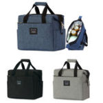 Оригинал 10L Portable Insulated Thermal Lunch Box Cooler Carry Tote Picnic Food Container Storage Bag Pouch Outdoor Camping