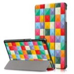 Оригинал Tri-Fold Pringting Tablet Чехол Чехол для планшета Samsung Galaxy Tab S5E SM-T720 SM-T725 – Cube