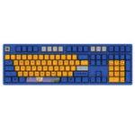Оригинал АККО3108V2ДраконBallVegeta 108 Key Dyesub PBT Колпачки Cherry MX переключатель Механический Gaming Клавиатура