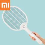 Оригинал XiaomiJordan&Judy3000В Электрический Москитная Мухобойка Трехслойная противоударная сетка Зарядка от USB Отпугиватель комаров Портативный Кем