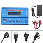 Оригинал iMAX B6 80 Вт 6A Lipo Батарея Баланс Зарядное устройство Разрядник XT60 Выход с адаптером питания