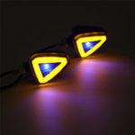 Оригинал Пара 12 В 10 Вт Универсальный мотоцикл LED Индикатор поворота Индикатор указателя поворота