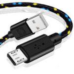 Оригинал Bakeey 2A Micro USB Nylon Плетеный кабель для быстрой зарядки данных для Xiaomi HUAWEI HONOR OPPO Android Телефон