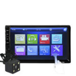 Оригинал 7032R 7 дюймов IPS Full View Bluetooth Авто MP5 Player Парковка Датчик