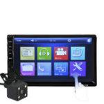 Оригинал 7032R 7 дюймов IPS Full View Bluetooth Авто MP5 Player Парковка Датчик