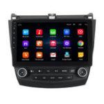 Оригинал 10.1 дюймов 2 DIN Android 8.1 Авто Стерео Радио GPS / MP5 / FM / AM плеер Bluetooth WIFI для Honda Согласие 2003-2007