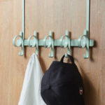 Оригинал Xiaomi BIBI Дверные Задние Крючки Nordic Style Многофункциональное Хранение Вешалка Ванная комната Кухня Органайзер Домашняя Одежда Полотенце Держ