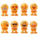 Оригинал 7 см Emoji Весна Головка Хвостовика Кукла Симпатичные Игрушка для снятия стресса Ключ пряжки Подарок Авто Декор