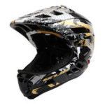 Оригинал Детский велоспорт PRO Полнолицевый шлем Съемный дышащий самокат ПК + EPS 53-58см