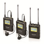 Оригинал Saramonic UwMic9 Kit2 Беспроводной Lavalier Lapel Микрофон Передатчик Приемник Система для DSLR камера