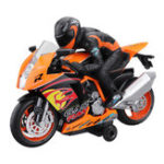 Оригинал WeiLongToys3001/182.4GRc мотоцикл 360 Вращение со светом Sound Модель Авто RTR