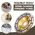Оригинал 125-миллиметровый алмазный бетон шлифовального круга колеса диска диска масонства гранитный камень шлифовального круга