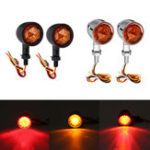 Оригинал 12V Universal Motorcycle Bullet Turn Signal Indicator Brake Runnning Lights 4 Wire