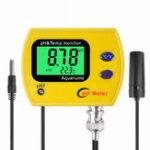 Оригинал PH-991 PH-метр с тестером подсветки Прочный ацидиметр Инструмент Temp Монитор для Аквариум Swim Бассейн Water