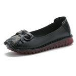Оригинал ЖенщиныПовседневнаяSoftКожаныеплоскиеретро женские туфли бездельников