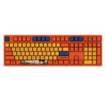 Оригинал АККО3108V2ДраконШарGOKU 108 Key Dyesub PBT Колпачки Cherry MX переключатель Механический Игровые Клавиатура