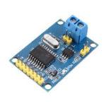 Оригинал Плата модуля шины MCP2515 TJA1050 SPI для контроллера Arduino 51 ARM ARM