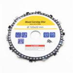 Оригинал 5 дюймов Цепной диск желто-фиолетовый шлифовальный станок 22 мм оправка 14 зуборезный диск для 125 мм угловая шлифовальная машина