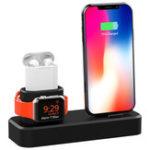 Оригинал 3 in1 Зарядка для док-станции Подставка для телефона Подставка для iPhone XS Макс XS XR Apple AirPods серии Apple Watch 1 2 3 4