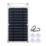 Оригинал 6 В 10 Вт 1.5A Портативный Монокристаллический Солнечная Панель Тонкий и Свет USB Зарядное Устройство Зарядки Power Bank Pad