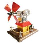 Оригинал STEMВысокоскоростнойСтерлингДвигательВентиляторПропеллер Внешнего Сгорания Двигатель Модель Декор Подарок