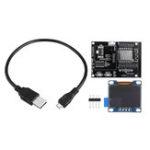 Оригинал ESP8266IoTDevelopmentBoard+Желтый Синий OLED Дисплей SDK Программирование Wifi Модуль Маленькая системная плата